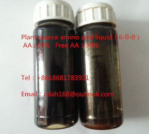 Supply Fertilizer Grade Amino Acid Powder/ Amino Acid Liquid Foliar Fertilizer pictures & photos