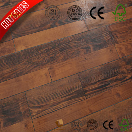 Rustic Oak Oka Laminate Wood Flooring