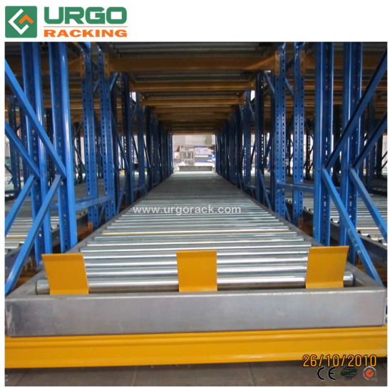 Roller Rail Live Pallet Racking with Gravity System