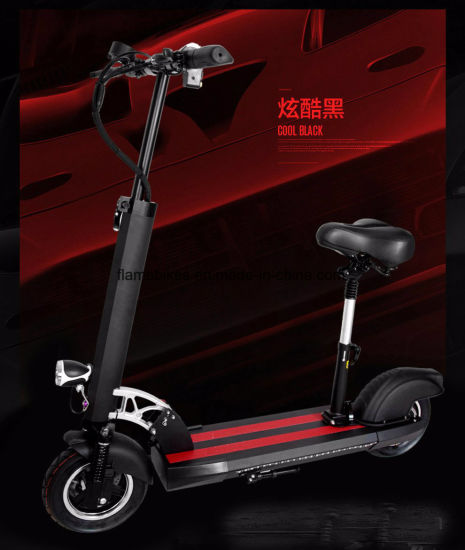 10 Inch Electric Scooter with Front Suspension pictures & photos