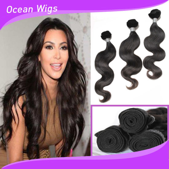 2017 New Products Whole Weaving Hair Extension Body Wave Remy Virgin Brazilian Human Bw 098b