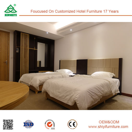 Customized Holiday Inn Hotel Bed Room Furniture Bedroom Set pictures & photos
