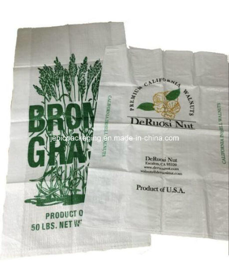 2 Printed Colors PP Woven Bag for Argriculture Products pictures & photos