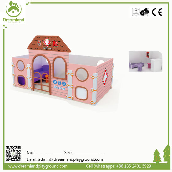 Good Quality Wooden Playhouse for Kids pictures & photos