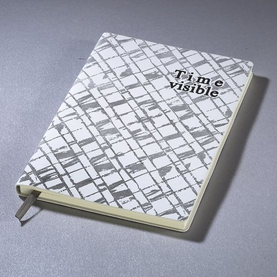 Stationery A5 Size Lined Diary Notebook with Logo for Sale pictures & photos