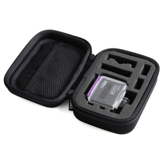Portable Custom Waterproof EVA Digital Camera Travel Case with Zipper Logo pictures & photos