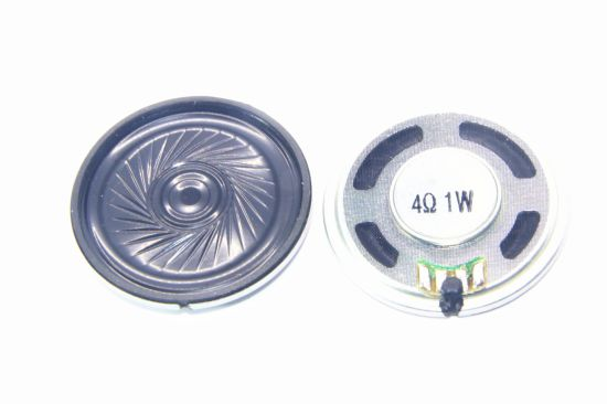 40mm 4-16ohm 0.25-2W Mylar Speaker with RoHS pictures & photos