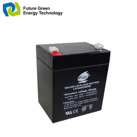 Wholesale 12V 4ah VRLA Lead Acid UPS Storage Battery for Computer