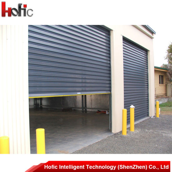 Electric High Speed Roller Shutter Roll Up Door With Aluminum Alloy