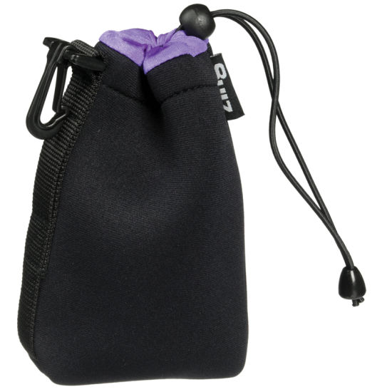 Wonderful High-End Custom Velvet Jewelry Pouch with Side Buckle