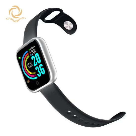 1.3inch Color Screen Bluetooth Smart Watch Smart Bracelet Health Fitness Heart Rate Step Measurement
