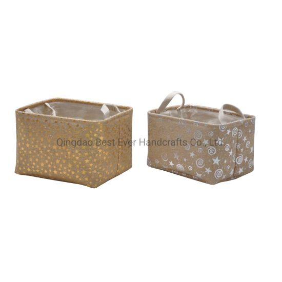 Storage Bins Box Container Fabric Baskets for Living Room