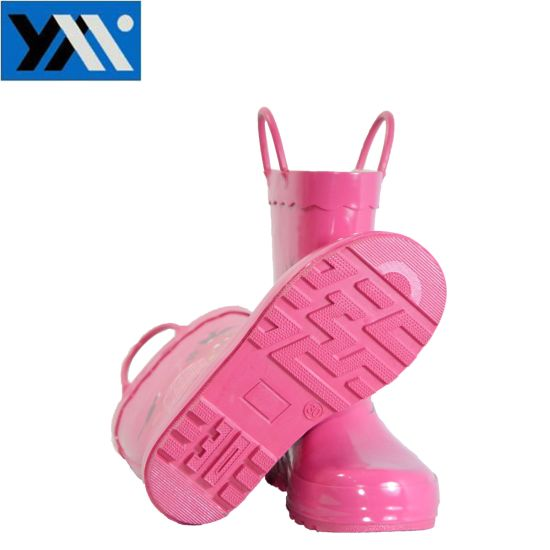 New Design Children Waterproof Wellington Rubber Rain Boots pictures & photos