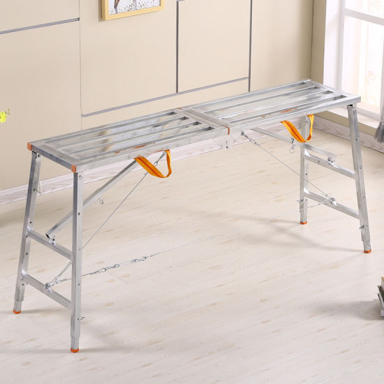 Galvanized Folding Ladder for Home Use
