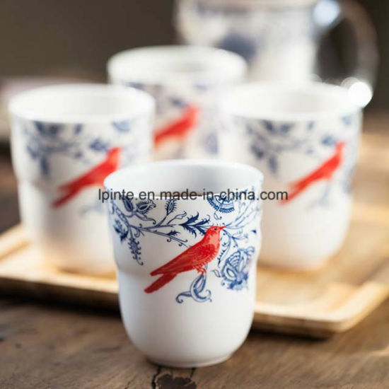 Porcelain Mug Bone China Water Mug Cafe Mug pictures & photos