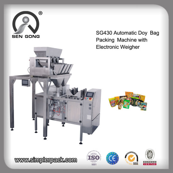 Wholesale Automatic Stand up Bag Dried Food Packaging Sealing Machine