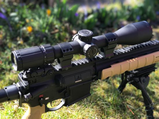 Vector Optics Marksman 4.5-18X50 Tactical Hunting Rifle Scope Riflescopes pictures & photos