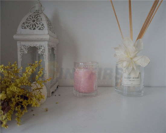 Wholesale Hand Made Modern Wedding Home Decor Glass Cup Candle