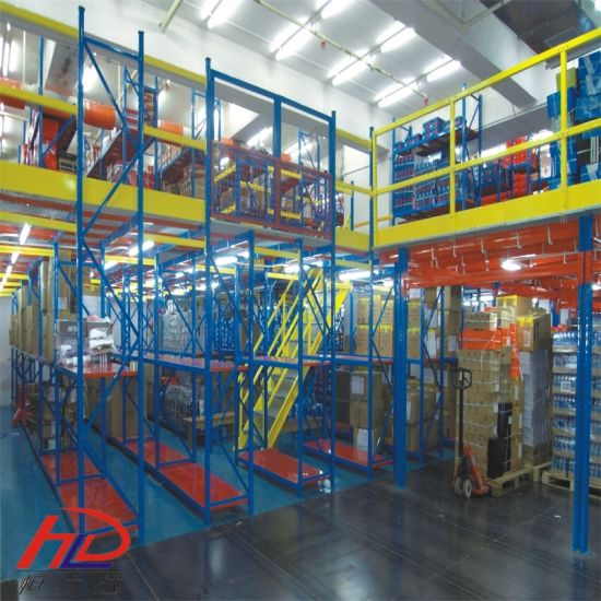 High Quality Floor Structures Mezzanine Racking pictures & photos