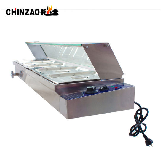 5 Pan Commercial Countertop Electric Bain Marie on Sale pictures & photos