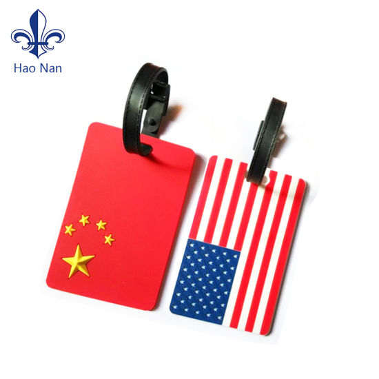 Hot Sale Factory Cheap Price Strong PVC Luggage Tag pictures & photos