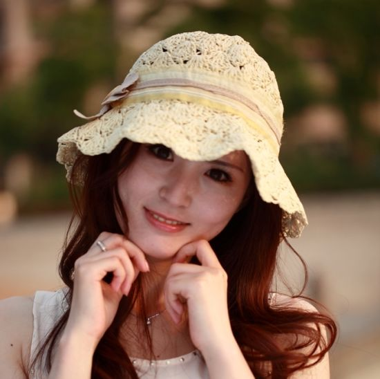 Cowboy Seagrass Straw Bucket Hat (LB15021) pictures & photos