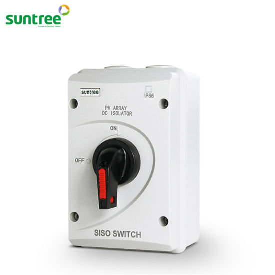 China AC Rotary Switch DC1000V 4 Pole Solar DC Isolator Switch ...