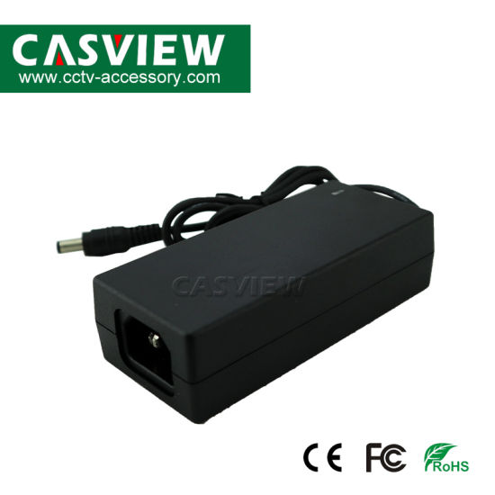 CCTV Camera Power Supply 12V Output 3A 36W Switching Power Adaptor with AC Cable EU Us UK Au Plug Optional Ce Approved LED System pictures & photos