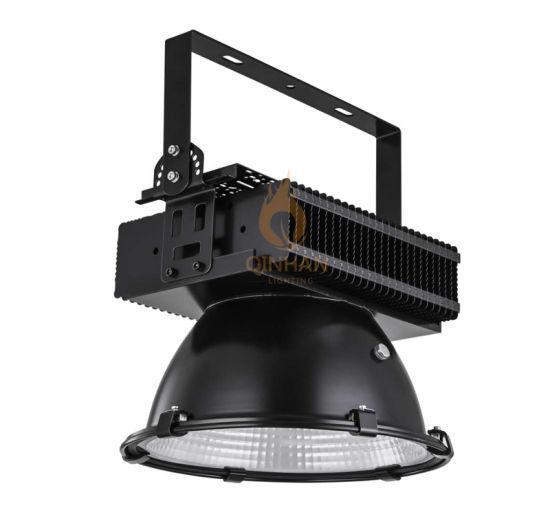 300W Industrial Factory Workshop Warehouse LED High Bay Canopy Light Fixture for Indoor Natatorium Gymnasium Basketball Court Lighting