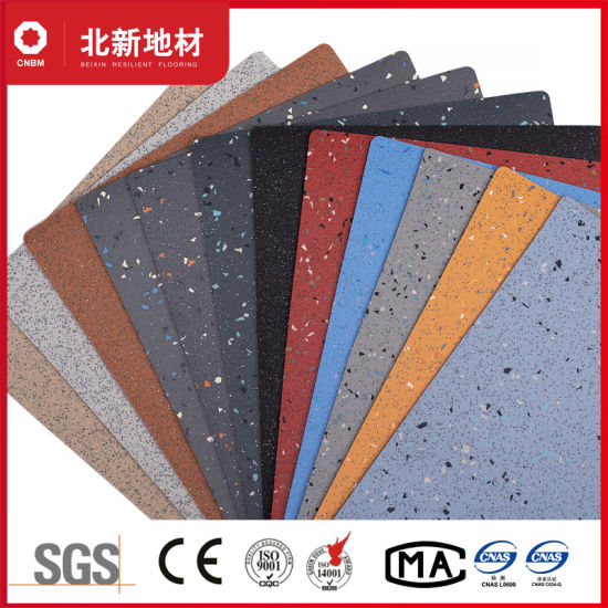 Water-Proof Laminated Vinyl Bus Flooring -2.0mm Bxsf20-7009 pictures & photos