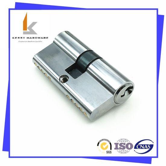 60mm Zinc Alloy Brass Indoor Home Security Door Lock Cylinder