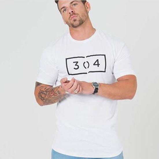 Shortsleeve Wholesale Custom Pima Cotton Men Plain Tshirt OEM