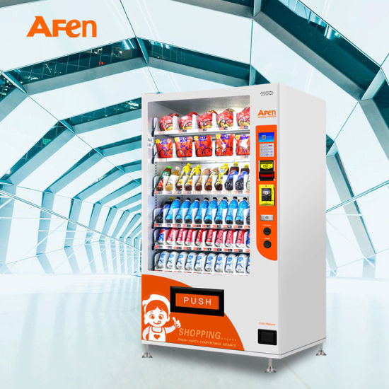 Automatic Vending Machine for Snacks and Beverages with Premium Quality