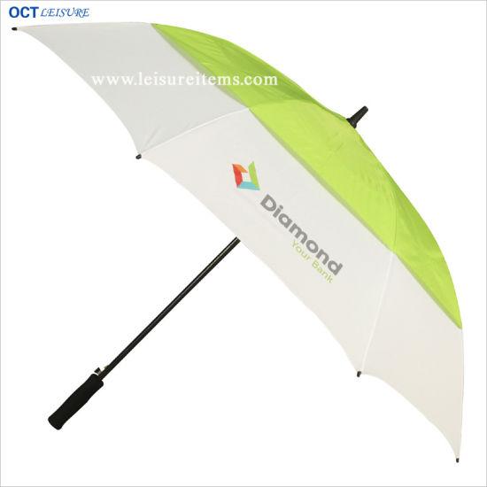 Light Strong Double Layer Golf Umbrella (OCT-G16AD)