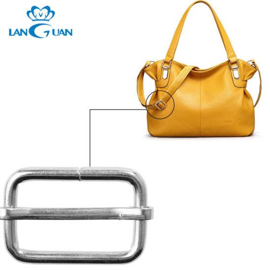 Bags Accessories Antique Adjustable Metal Square Strap Buckles