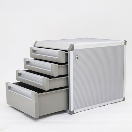4 Drawers Metal File Storage Cabinet For Office And Home AC9931