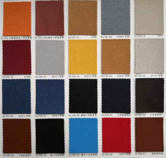 Pull-up PU Leather for Book Binding, Binding Leather Material. pictures & photos