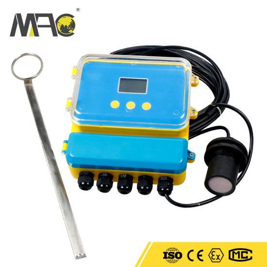 Open Channel Tri-Clamp Handheld Digital Clamp Ultrasonic Flow Meter Portable