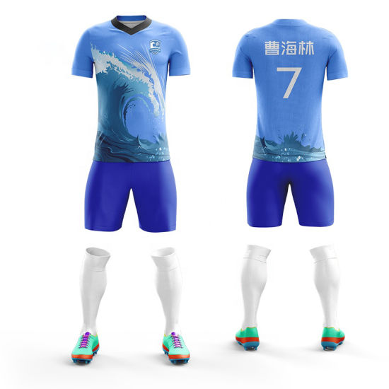 reputable site bb7b5 e9f5f Sublimation Custom Football Jersey Wholesale Colorado Rapids Soccer Jersey  Uniform