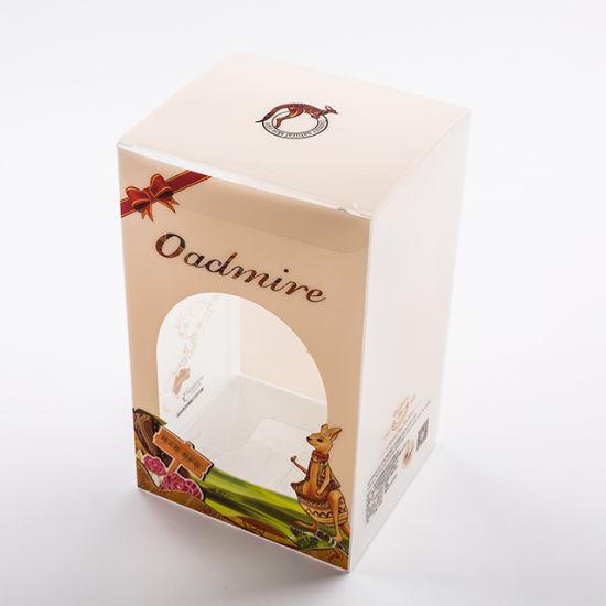 Luxury Custom Printing Gift Foldable PVC Pet Packaging Box