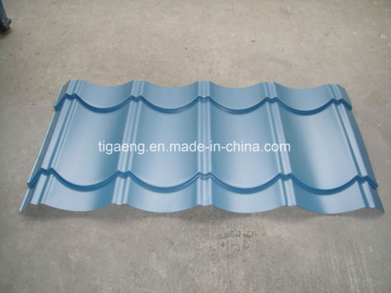 Antique Glazed PPGI Roof Sheeting Color Galvanized Metal Roofing