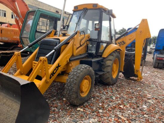 Jcb 4cx Used Backhoe Loader with Cheapest Price