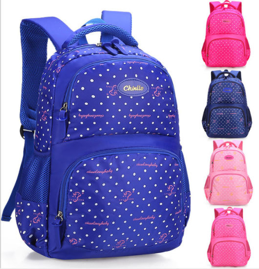 Primary School Bags Double-Shoulder Kids' Bags Customized Logo Backpack