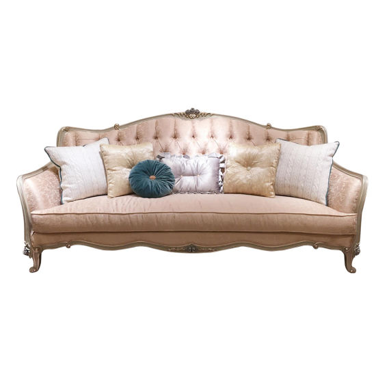 European French Royal Living Room Furniture Princess Classic Vintage Sofa  High Quality Modern Palace Furniture European Style Home Furniture Living  ...