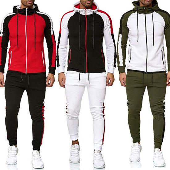 Aibort Men High Quality Fashion Casual Sport Tracksuits (N-HD-02)