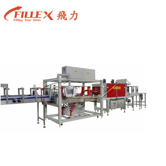 Auto Bottle Shrink Wrapping Machine