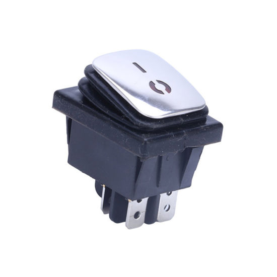 Waterproof Boat 15A 12V DC on off Dpst Red Green Blue LED Illuminated Light 4 Pin Rocker Switch