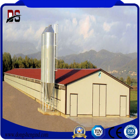 china general steel buildings steel broiler chicken house - china
