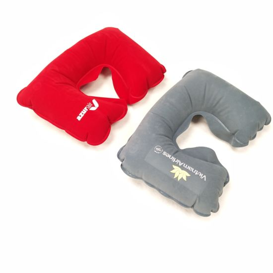 Travel Pillow Set Travel Neck Pillow Inflatable Disposable Pillow