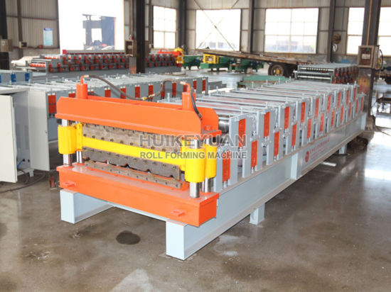 Double Layer Color Steel Roof Sheet Roll Forming Machine